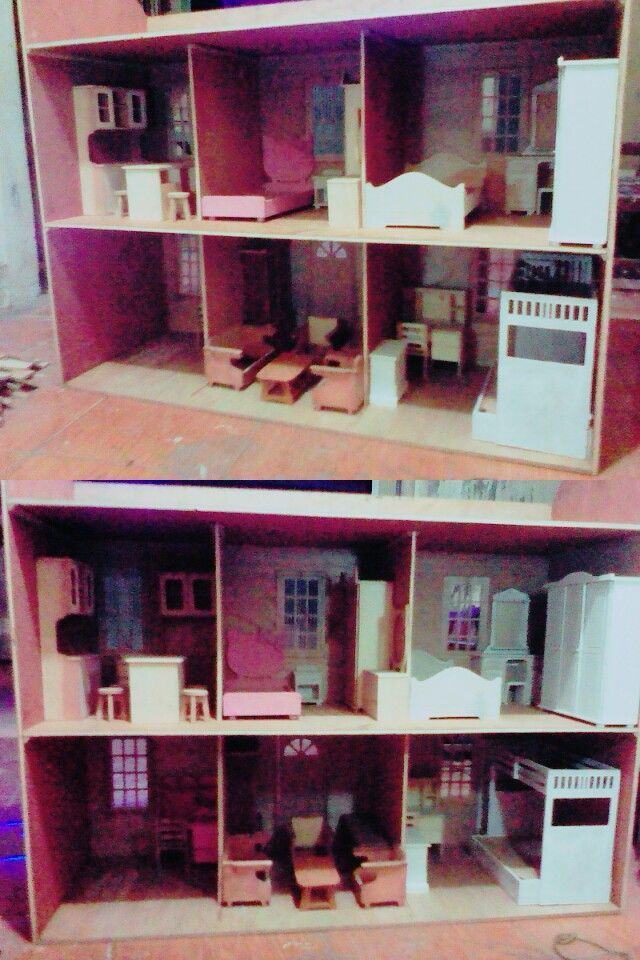 Barbie furniture and roombox