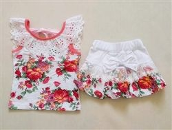 2pc Floral Set