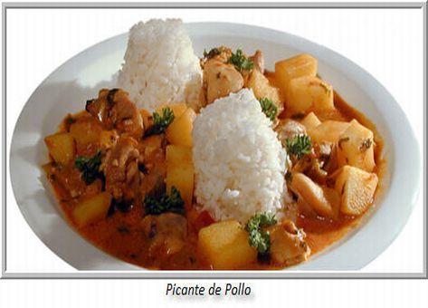 Los picantes han sido siempre platos tradicionales de las zonas andinas de nuestro país. en esta ocasión traemos esta deliciosa Receta de Picante de Pollo.