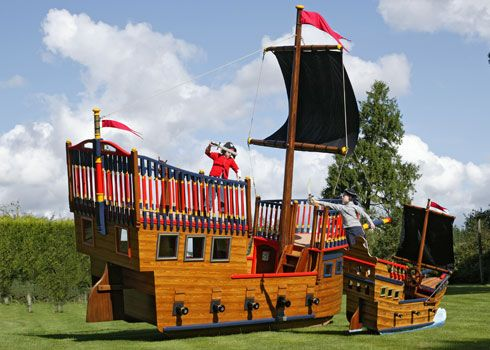 Pirate Playsets Plans Pirate Playgrounds Amp Areas