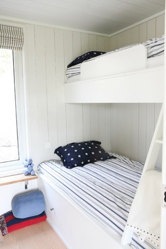 Bunk Beds in white