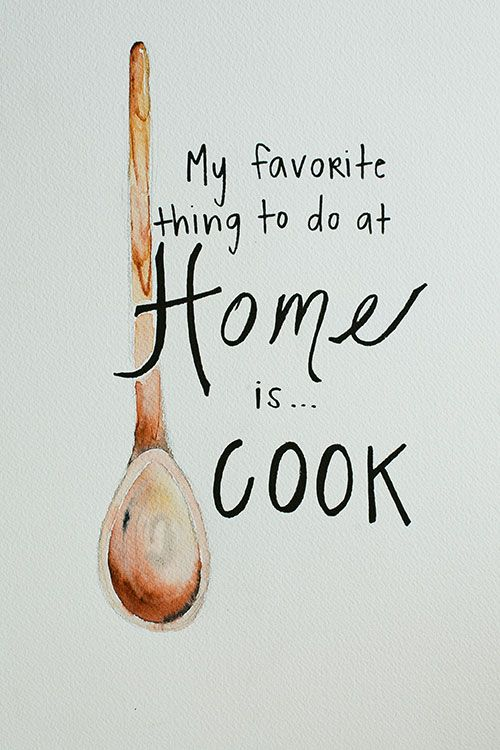 "Turn cooking into ""me"" time. Pour yourself a glass of wine, turn up the music and go to town"