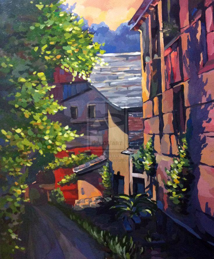 Italian street by MariaSergeeva.deviantart.com on @deviantART