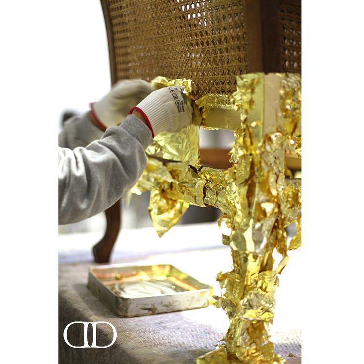 The grace of gold leaf #Dorya #DoryaInteriors #DoryaHome #Atelier #LuxuryFurniture #Home #Decoration #Interior #InteriorDesign #Trend #Trending #Luxury #Fashion #Chic #Chair #GoldLeaf #HandCraftedtoPerfection