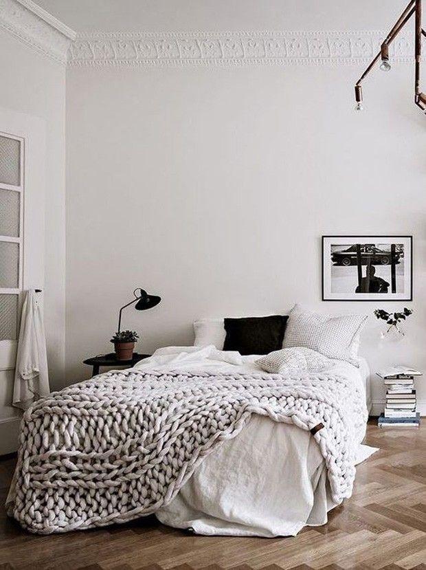Decoração de lã: 18 ideias para deixar a casa mais aconchegante (Foto: Reprodução) http://amzn.to/2sBN4V4