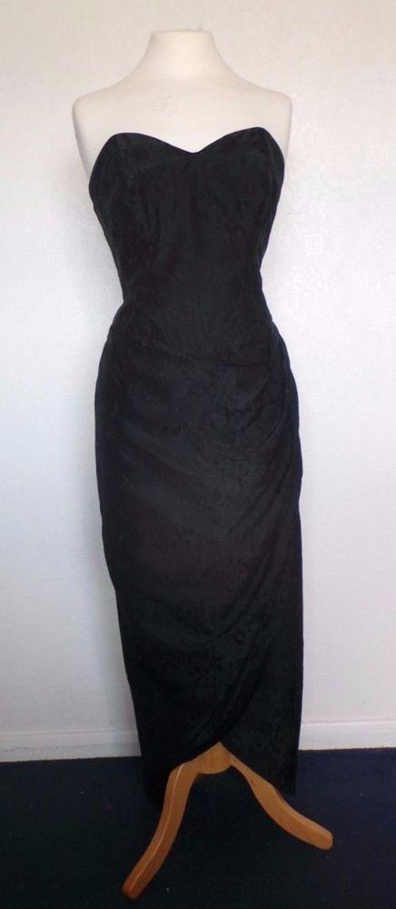 I love the cut of this Vittorrio Rosato   Harvey Nichols 1980s dress. Pure silk! :O