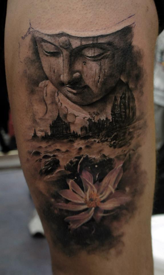 20 best buddha tattoo images on pinterest buddha tattoo design buddha tattoos and arm tattoo. Black Bedroom Furniture Sets. Home Design Ideas