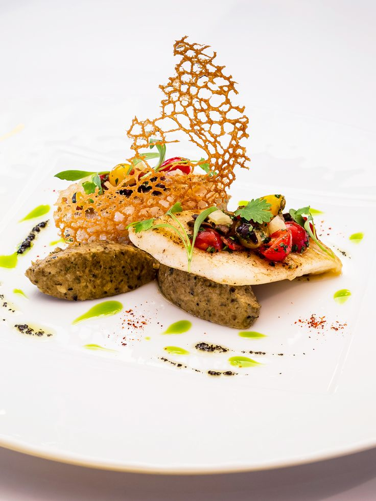 John dory fillet with aubergine caviar and avocado oil for John dory recipe