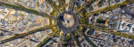 Paris, France • AirPano.com • 360° Aerial Panorama • 3D Virtual Tours Around the World