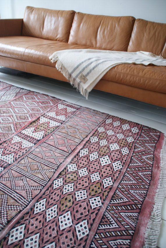Original handmade vintage Kilim/Kelim kleed/ Rug / by janenjacob
