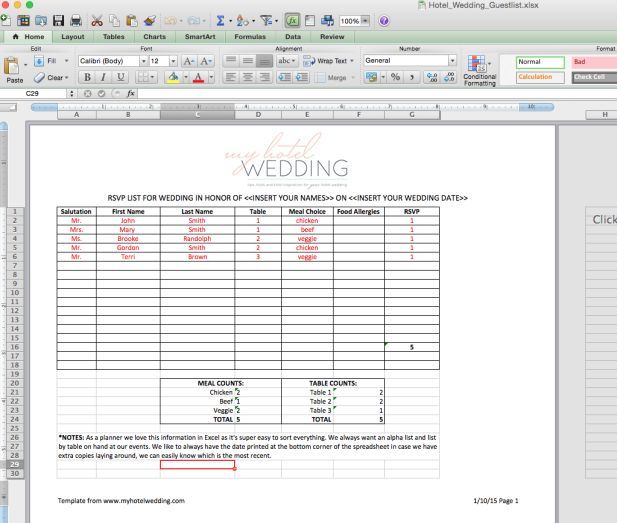Best 25+ Wedding checklist template ideas on Pinterest Wedding - sample wedding guest list