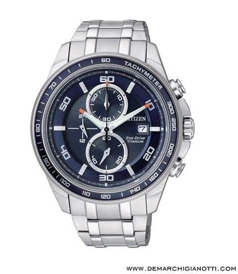 Citizen Crono Supertitanio  Eco Drive ca0345-51l  www.demarchigianotti.com