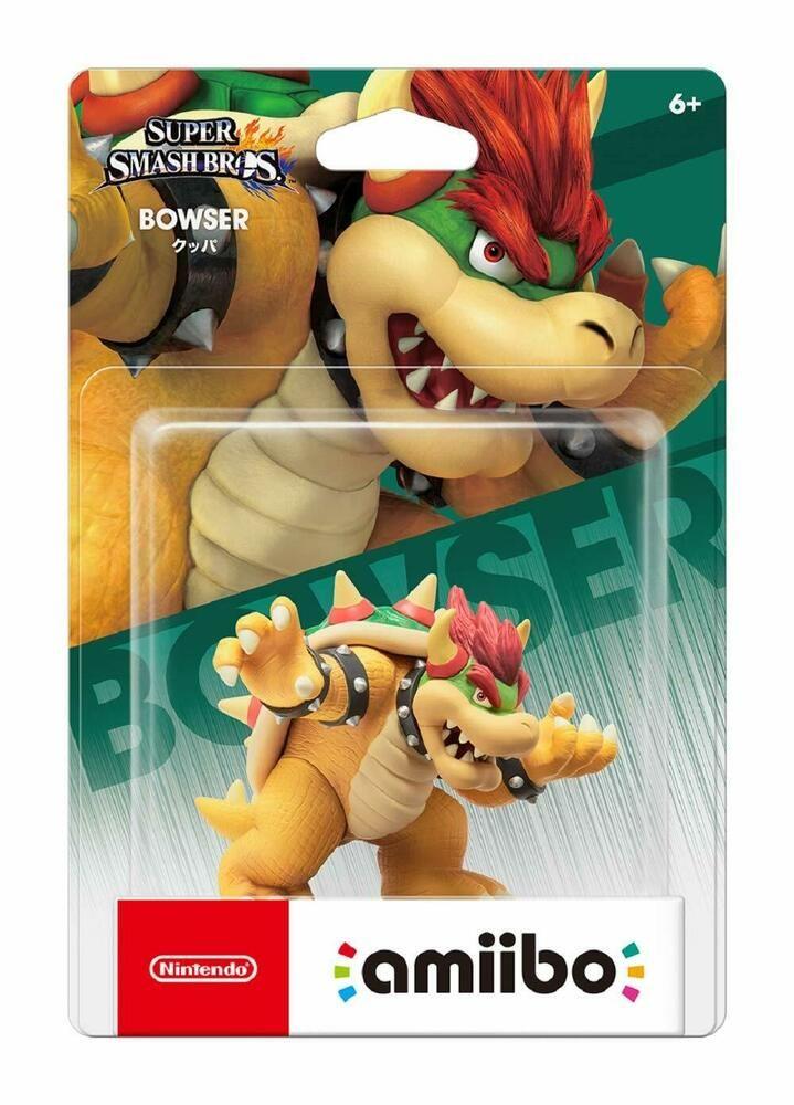 Amiibo Super Smash Bros Bowser Auch Kompatibel Mit Nintendo
