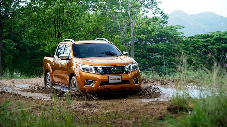 New Nissan Navara for 2015.