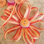 ribbon flower tutorials