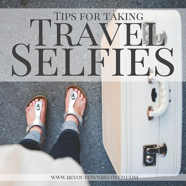 This post has some great ideas for getting fun shots, especially for solo travelers! #selfies #traveltips