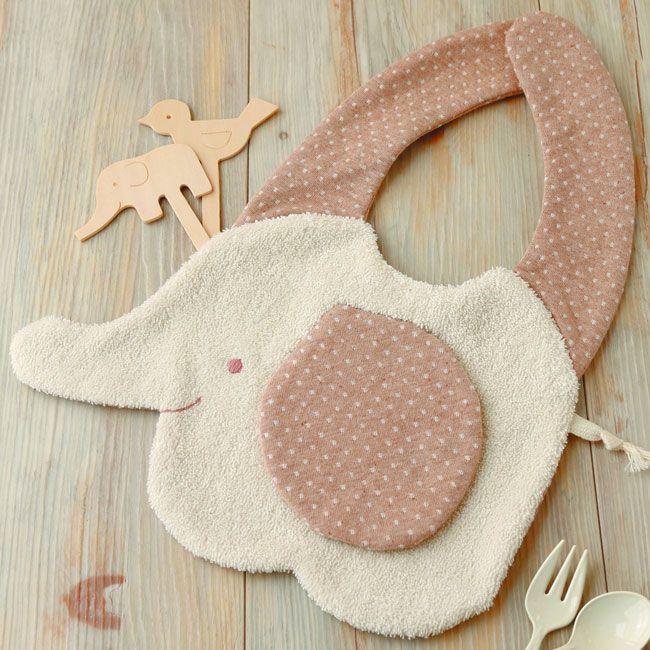 【楽天市場】オーガニック糸付き!ぞうさんのスタイ手作りキットセット【出産祝い・よだれかけ】:Hitomiの幸せデリバリー