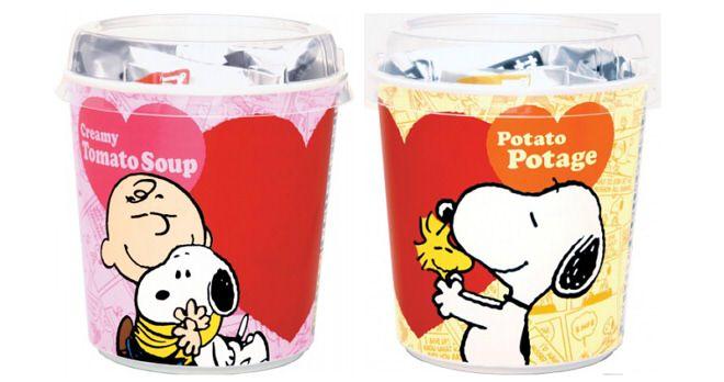 スヌーピーのカップスープ登場!  (c)2015 Peanuts Worldwide LLC www.SNOOPY.co.jp