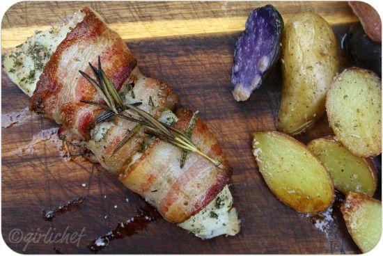 17 beste ideeën over Bacon Omwikkelde Aardappelen op ...