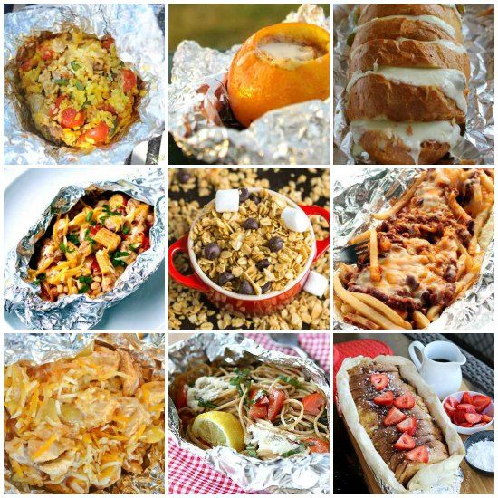 Easy Healthy Homemade Camping: Try These Incredible Foil-wrapped Camping Recipes For Your