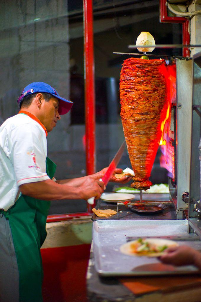 Tacos al pastor, #Mexico