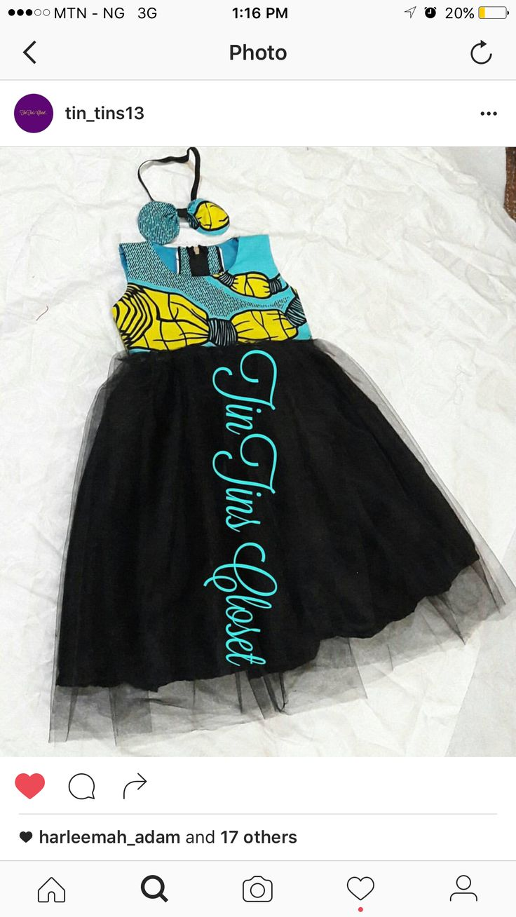 Ankara Dress, African Dress, African Wear, African Fashion, Vip Dress,  African Children, Tutu Dresses, Afro Style, Kid Outfits