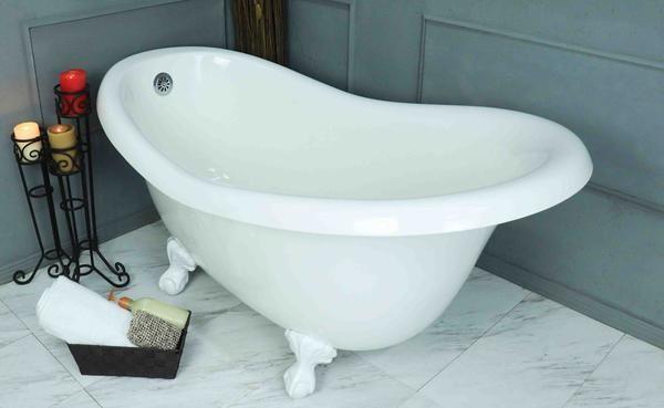Clawfoot Slipper Bathtub Bathtub Tub Clawfoot Bathtub