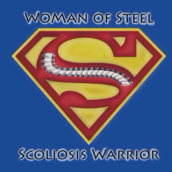 Woman of steel ~ Scoliosis warrior