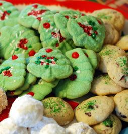 Sugar free christmas cookies, for any diabetics in your life, or just trying to watch your sugar during the holidays.