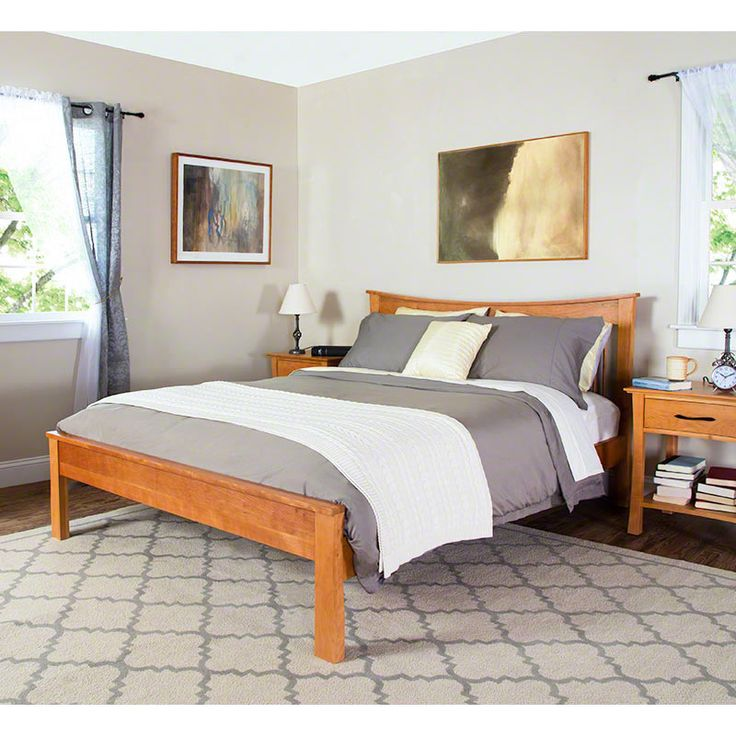 These Beds Are Skillfully Crafted In Cherry Maple Walnut Or Oak Woods Natural Finish Protects And Enhances