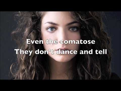 The 25+ best Lorde team lyrics ideas on Pinterest | Lorde royals ...