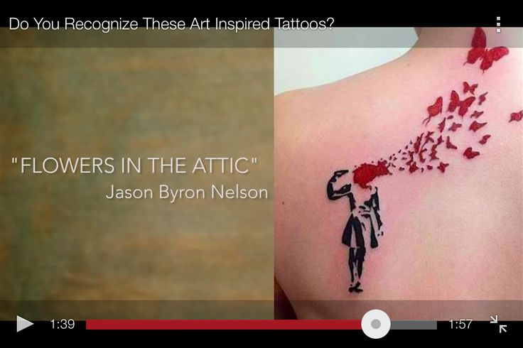 Flowers In The Attic Art Inspired Tattoos Flowers In The Attic Flower Tattoos