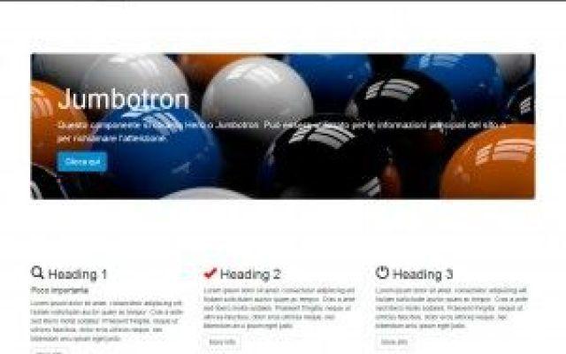 aggiungiamo le icone di Glyphicon a Bootstrap 3 #bootstrap #tutorial #css #webdesign