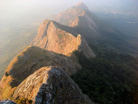 Gurungue mountain chain, Mozambique