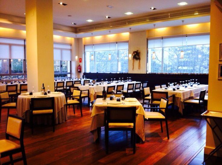 Ya estamos preparados para recibir a más de 100 personas en el restaurante http://www.restauranteeustaquio.es/ #restaurante #Cáceres