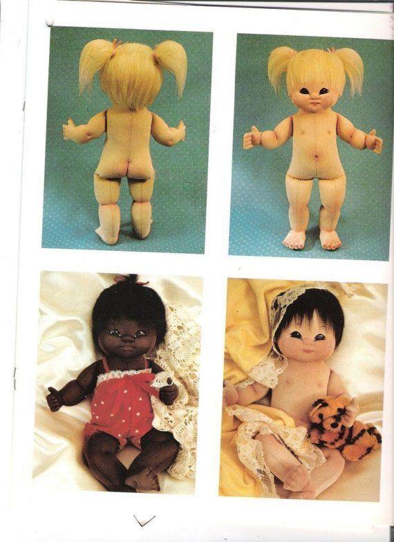 Vintage Soft Sculpture Miss Martha Doll Pattern by clothbabies1