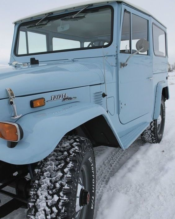 Tough but classic the Toyota Land Cruiser is the ultimate vintage car. #photosno… #Cars