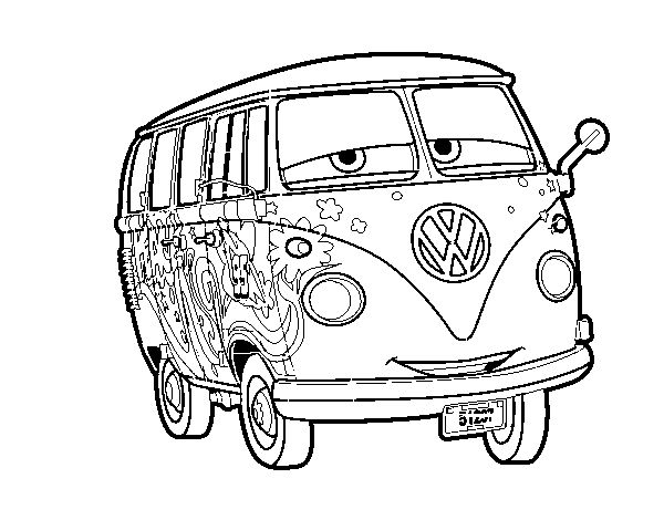 Fillmore Coloring Pages Google Search Cars Coloring