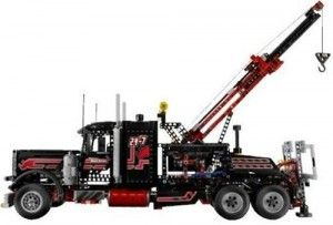 LEGO TECHNIC Tow Truck (8285) - Construct your own Tow Truck Toys like a real one. Contains 1877 pieces that can be construct become a tow truck and this is the second largest largest Technic set pieces-wise.