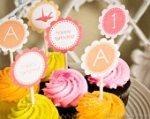 check out my friend's etsy shop!  She makes customized, printable cupcake toppers, and party supplies as well as printable wall art.       Fun to DIY and fully customizable for birthday parties, baby showers, engagement parties, you name it.       She gave me a discount code for  10% use  fraya when you checkout.     http://www.etsy.com/shop/ihearthackers