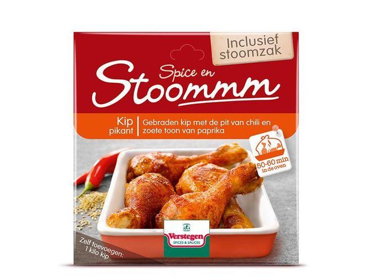 Spice en stoomm!- De traditionele smaak van mals gebraden kip. Smaakvol, gezond en makkelijk te bereiden. #Verstegen #Kip #gezond