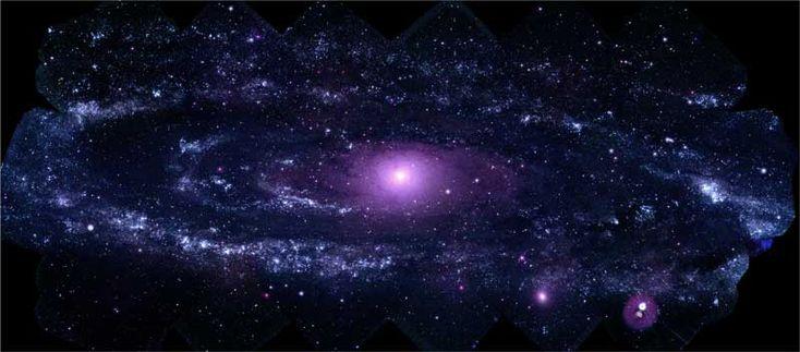 UV photo of Andromeda Galaxy (NASA/Swift)
