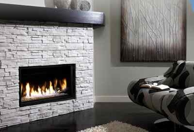 Kingsman gas fireplace modern linear direct vent 36 kfzdvrb3622 affordable mantles no love - Contemporary linear fireplaces cover idea ...