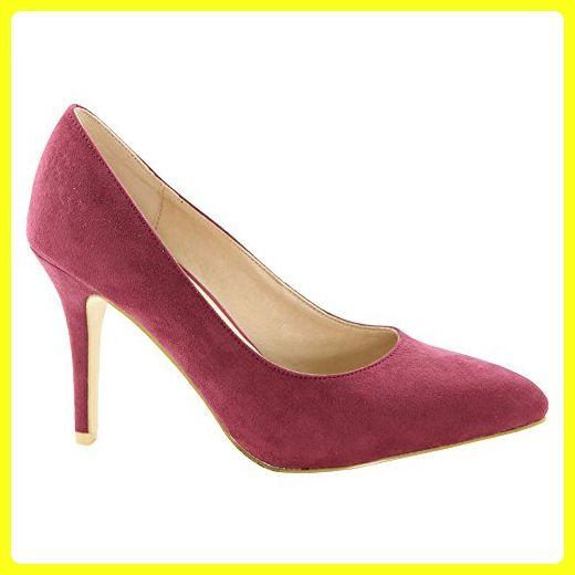 992c0cc916fc06 BELLAMARIE ADA-1 Women Pointed Toe Single Sole Stiletto Heel Evening Dress  Pumps