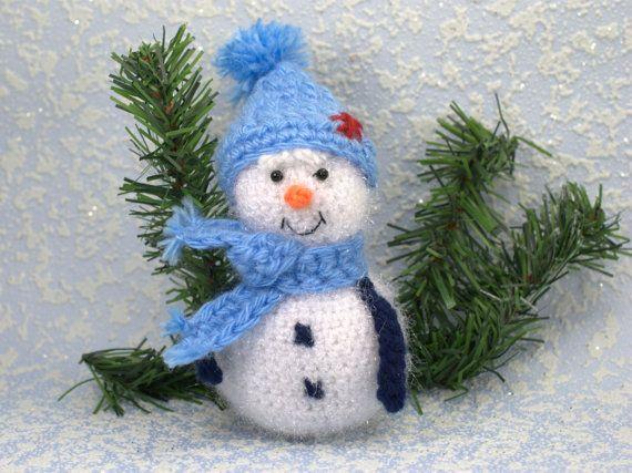 Christmas ornament Stuffed toy Christmas by HomemadeCraftIdeas