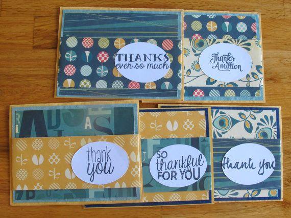 Custom Thank You Card Set- Personalized Stationery // Handmade Thank You Cards // Custom Stationary // Boxed Notecards // Thank You Notes by HotWheelsAndGlueGuns