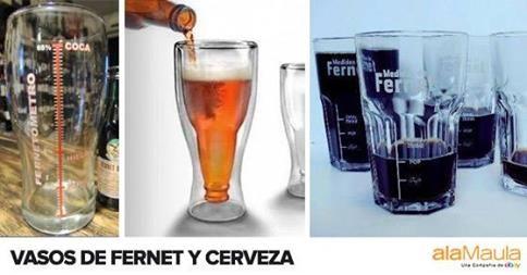 ¿Amigo Fernetero o Cervecero? www.alamau.la/VasoCervecero www.alamau.la/VasoFernetero