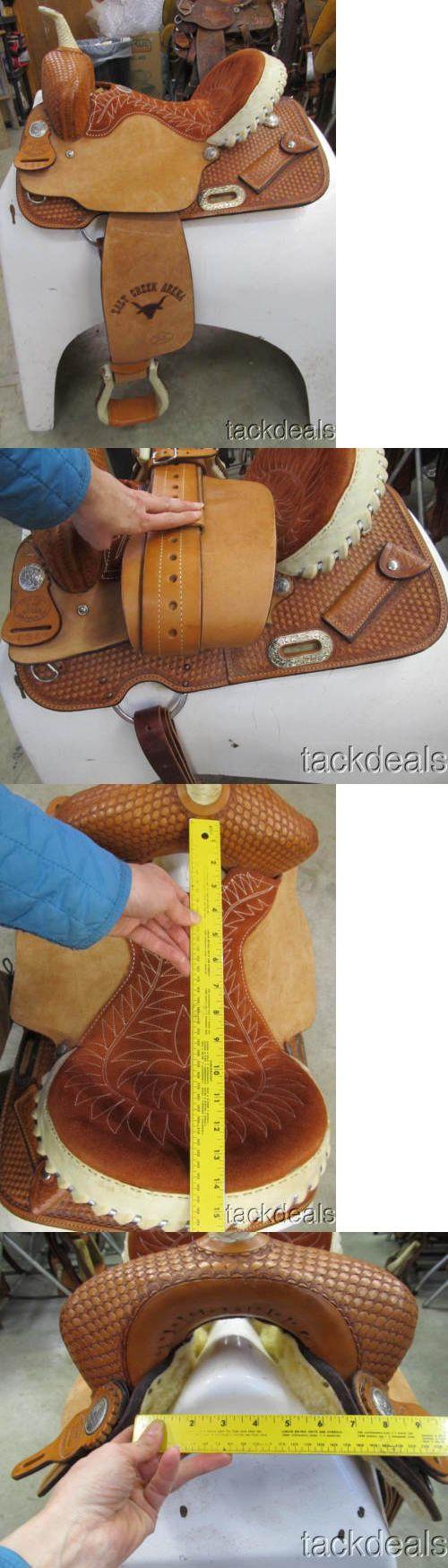 Saddles 47291: Billy Cook Barrel Saddle Ok Maker 14 New Never Used BUY IT NOW ONLY: $795.0