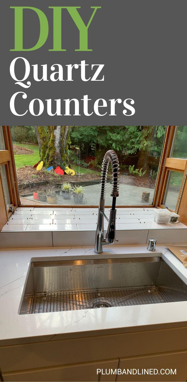 Diy quartz countertops in 2020 countertops quartz