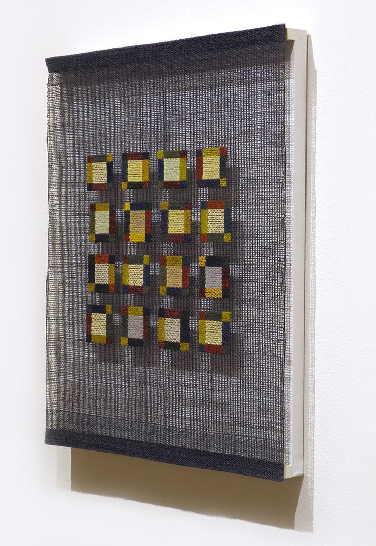 """Little Squares"" series; Morgan Clifford"